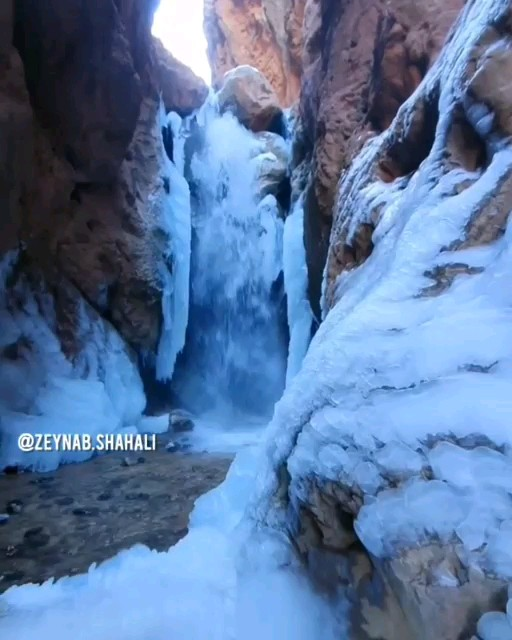 فیلم آبشار مجن شاهرود سمنان