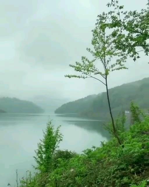 دریاچه شهر بیجار رودبارگیلان