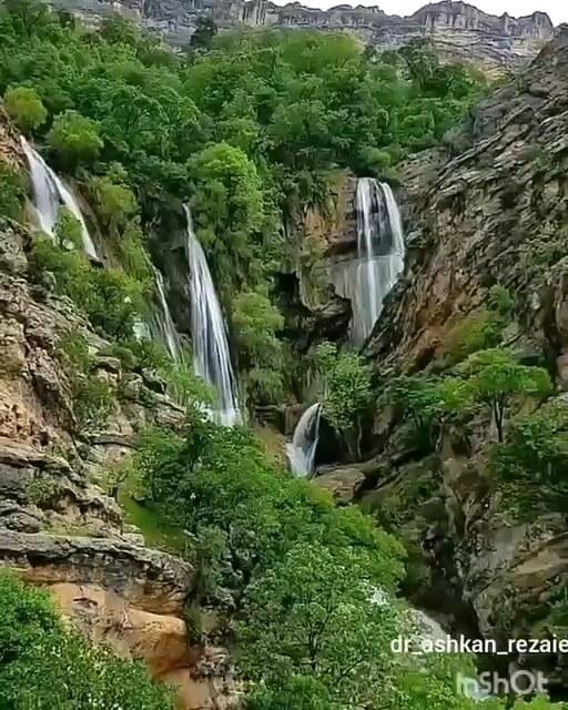 فیلم آبشار سه قلوی طوف کما در خوزستان