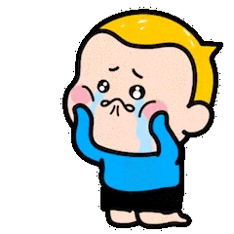 استیکر گریه