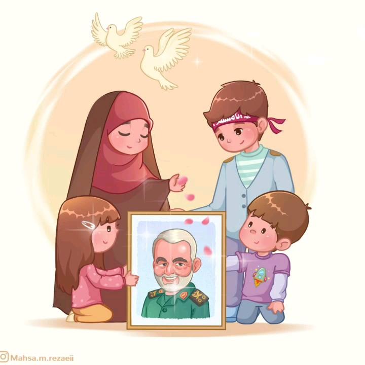 استیکر حاج قاسم سلیمانی | سردار سلیمانی
