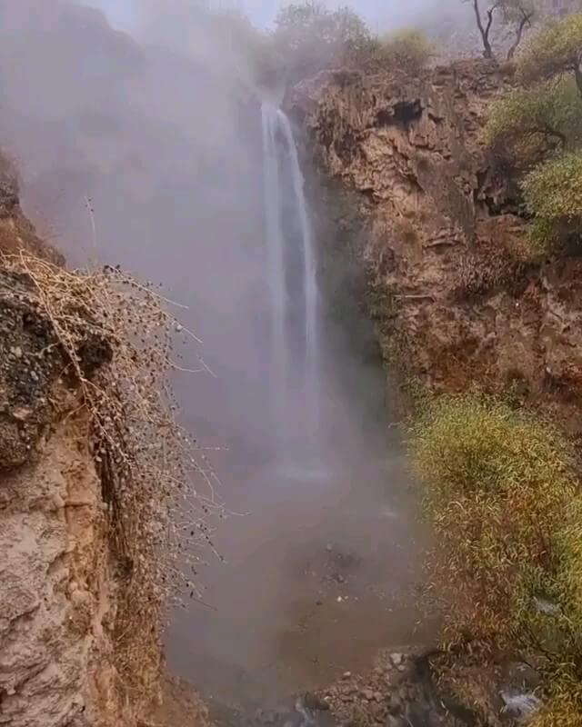 آبشار آبگرم کلات خراسان رضوی