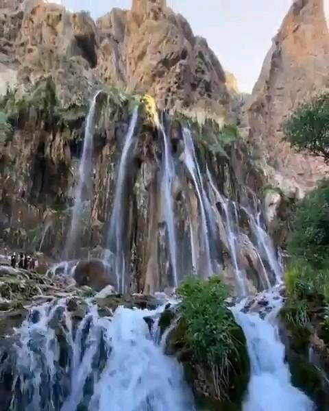 فیلم آبشار مارگون استان فارس
