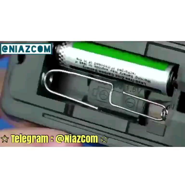 چطوری فقط با یک باتری از کنترل تلوزیون استفاده کنیم ؟
