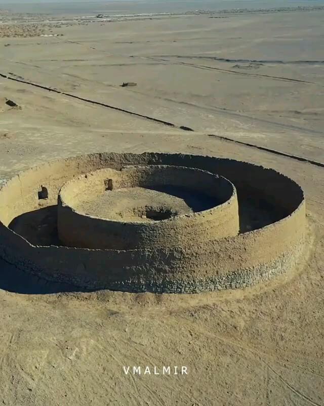 فیلم دخمه های شریف آباد اردکان | جاذبه تاریخی یزد