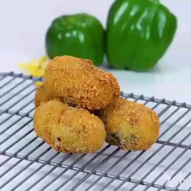 فیلم طرز تهیه کراکت سیب زمینی | کلیپ آشپزی آسان
