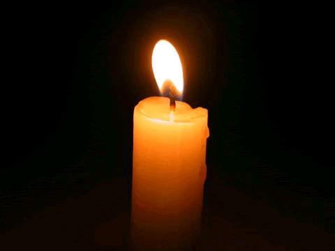 عکس متحرک شمع
