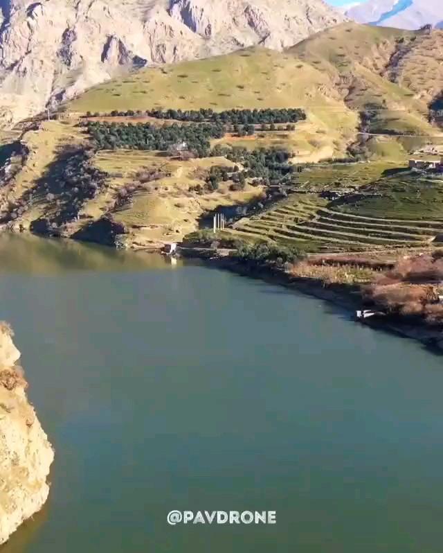 طبیعت تماشاییِ روستای هیروی پاوه