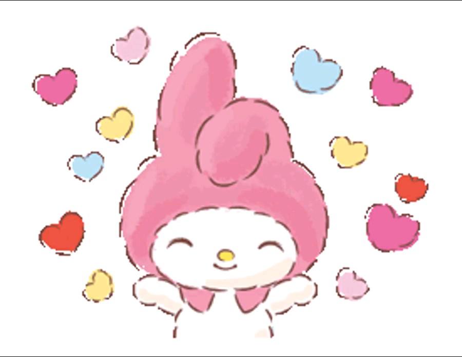 استیکر کارتونی عاشقانه واتساپ