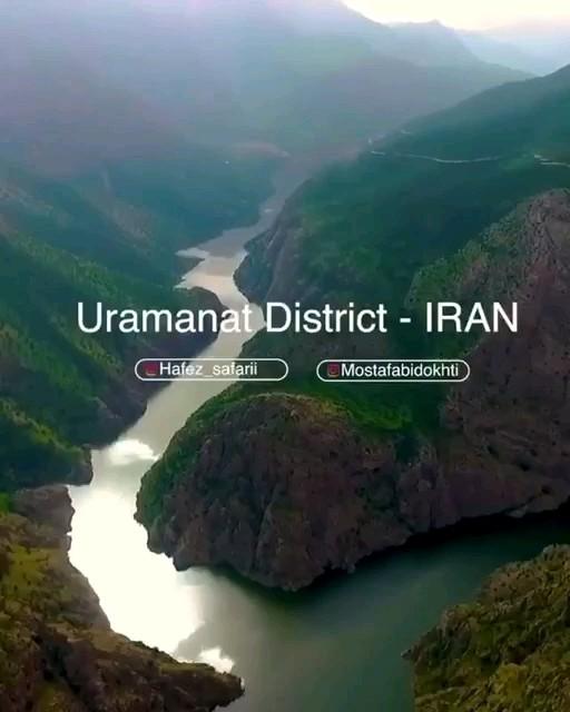 فیلم طبیعت زیبای اورامانات کردستان
