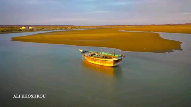 فیلم ساحل چابهار و روستای تنگ
