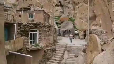 فیلم روستای صخره ای کندوان تبریز