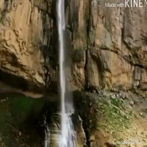 گردشگری کرج آبشار خور در جاده چالوس