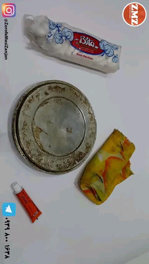 چگونه داخل ظروف مسی را تمیز کنیم ؟ | آموزش سفید کردن داخل ظروف مسی