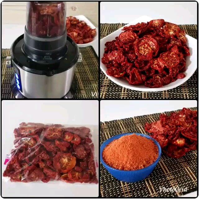 فیلم آشپزی آموزش گوجه فرنگی خشک شده