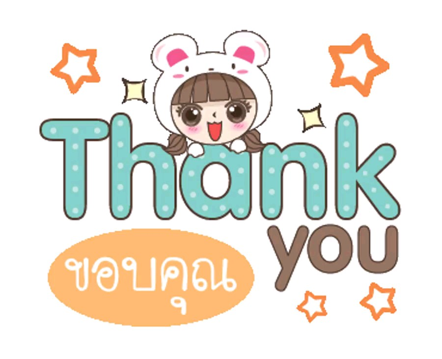 Sticker thank you  whatsapp