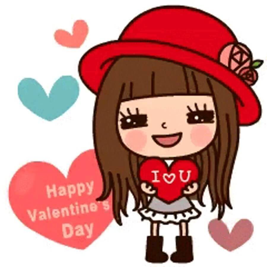Sticker happy valentine day whatsapp