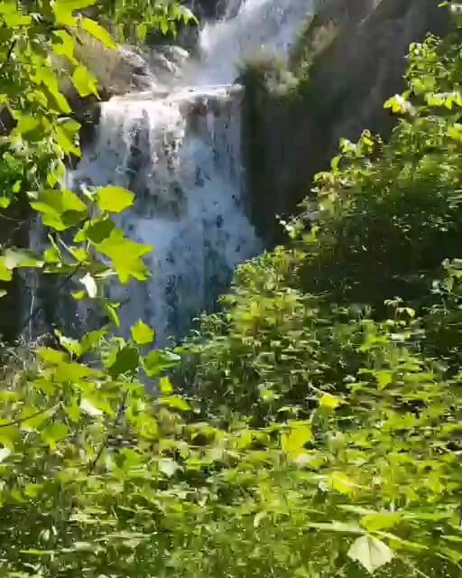آبشارهای آبگرمه دورود لرستان جاذبه گردشگری زیبا