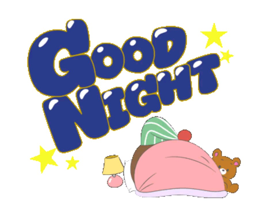 Sticker good night
