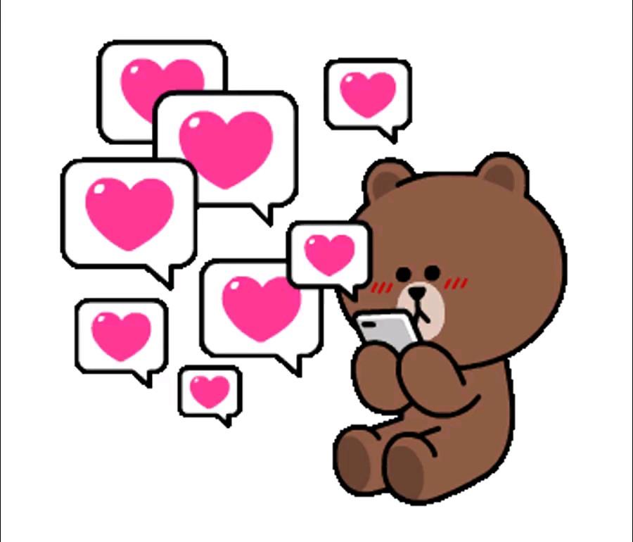 استیکر پیامک عاشقانه واتساپ