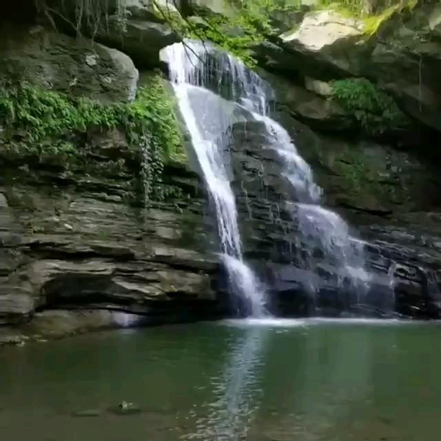 فیلم آبشار ساسنگ مینودشت در گلستان
