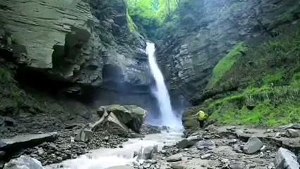 فیلم آبشار پلنگ دره شیرگاه مازندران