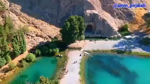 فیلم حوطه تاریخی طاق بستان دراستان کرمانشاه