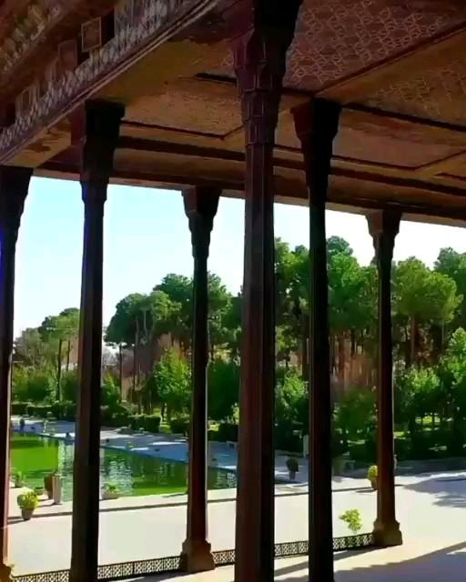 فیلم کاخ چهل ستون اصفهان