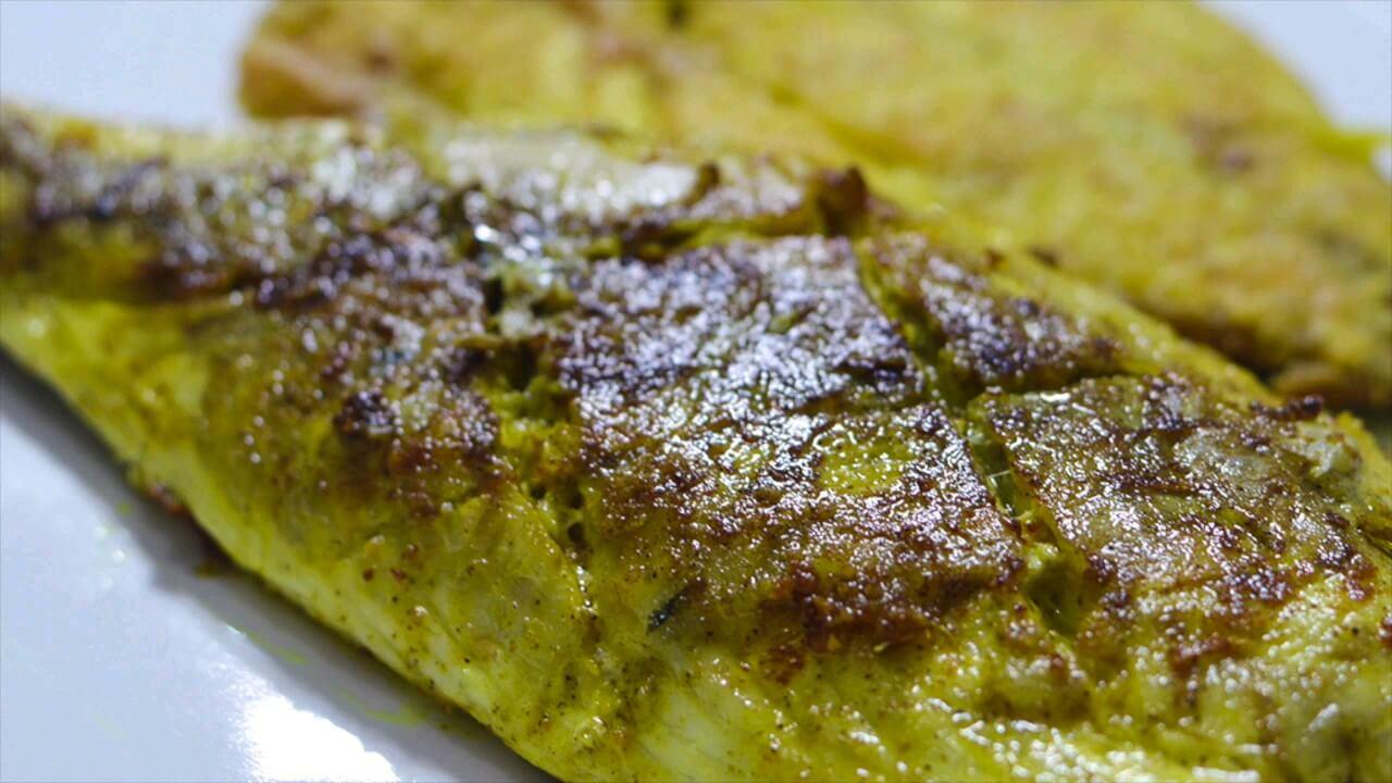 بهترین روش سرخ کردن ماهی ، ترد و بدون بوی زهم