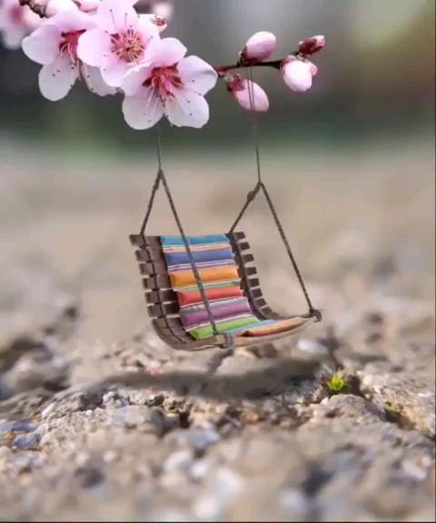 استیکر زیبا بهاری