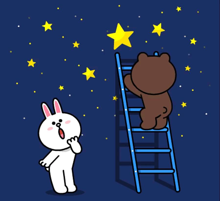 استیکر شب بخیر عاشقانه واتساپ