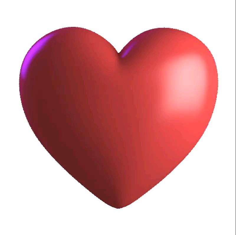 استیکر قلب رنگی