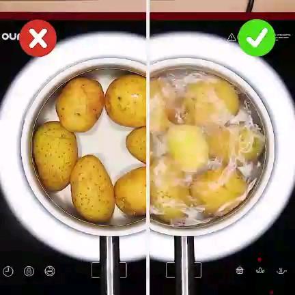 موقع آبپز کردن سیبزمینی، چه کار کنیم که آب زودتر جوش بیاد؟
