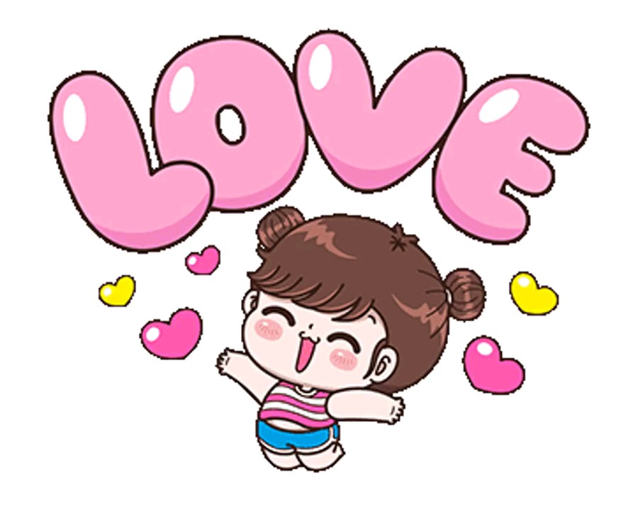 Love sticker gif
