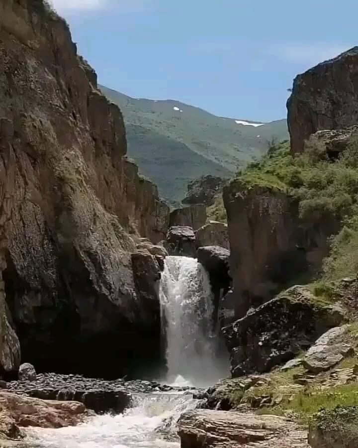 کلیپ آبشار هشترخان طارُم زنجان