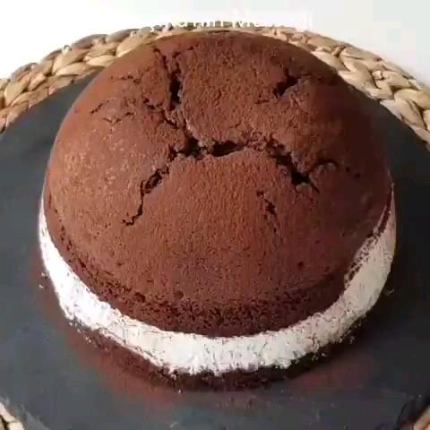 کلیپ آشپزی | طرز تهیه کیک گنبدی