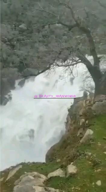 فیلم آبشار نگین اندیکا استان خوزستان