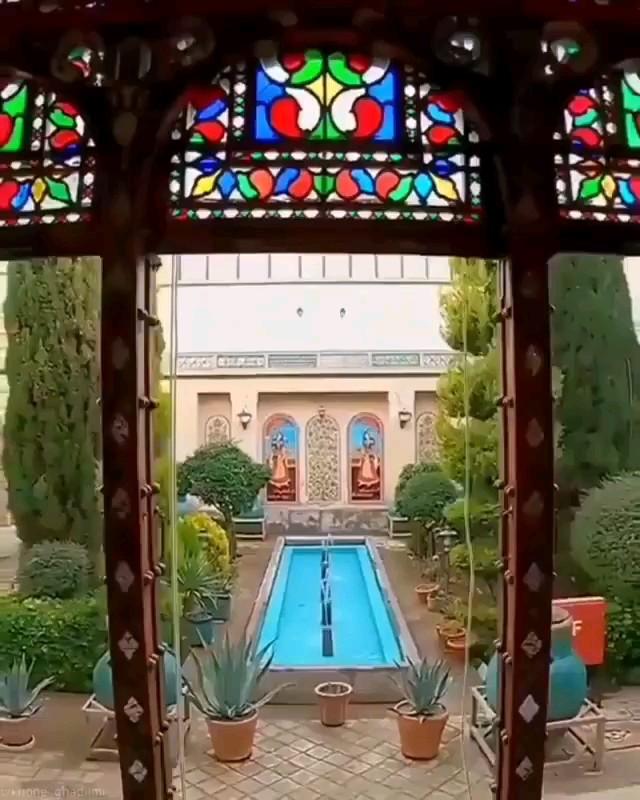 فیلم خانه زیبای ملاباشی اصفهان