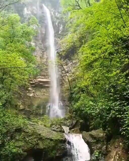 آبشار اوگردگرد ،استان گلستان