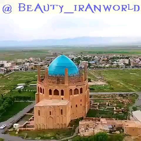 فیلم گنبد سلطانیه زنجان