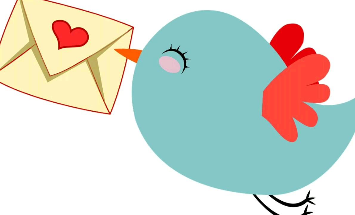 کارت پستال عاشقانه | استیکر عاشقانه کارت پستال