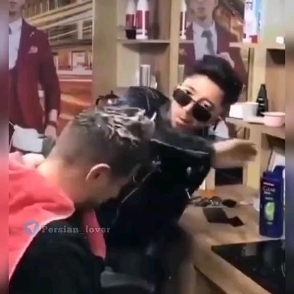 فیلم خنده دار آرایشگاه مردانه