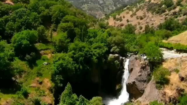 فیلم آبشار شلماش آذربایجان غربی