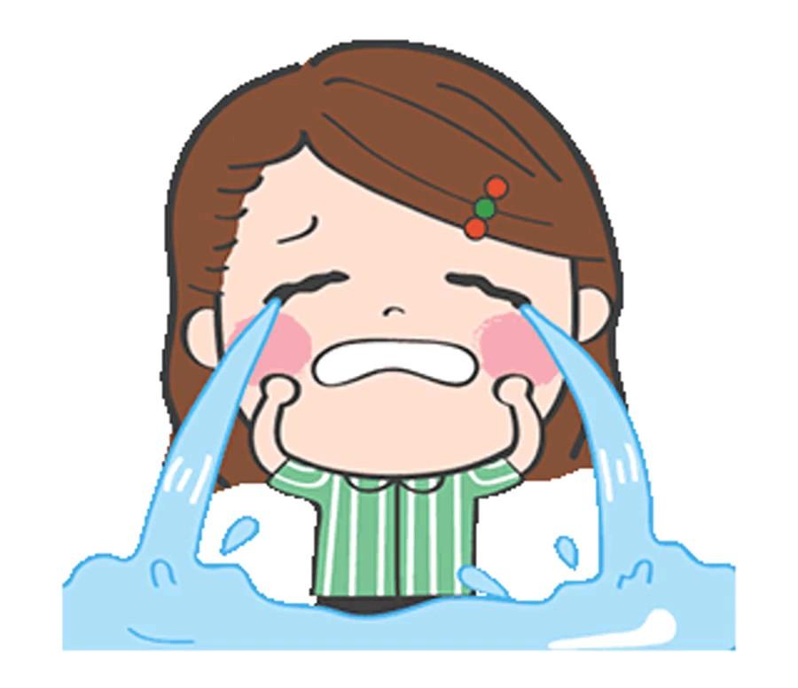 استیکر متحرک گریه
