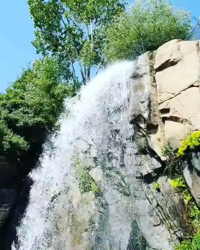فیلم آبشار گنج نامه همدان
