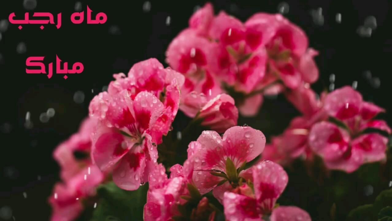 کارت پستال دیجیتال ماه رجب مبارک