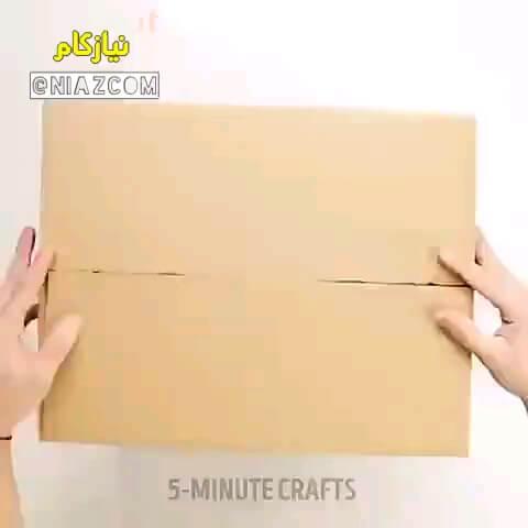یک ترفند کاربردی برای بسته بندی کارتن