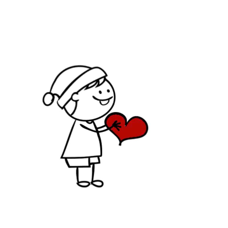 تصویر متحرک قلب عاشقانه | love