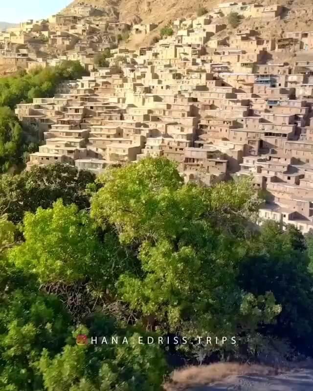 فیلم روستای دولاب کردستان