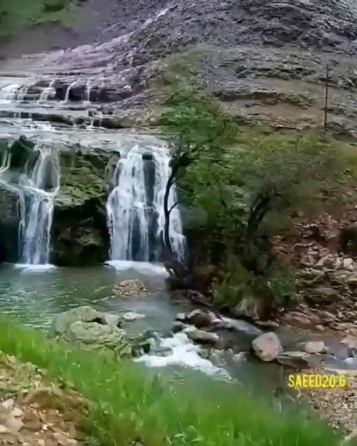 فیلم آبشار گریت لرستان بخش پاپی